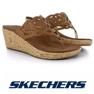 Skechers Cali Beverlee Cut It Out Thong Sandals